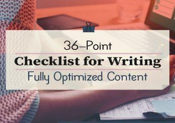 ۳۶ نکته طلایی برای نوشتن محتوای کاملا بهینه شده